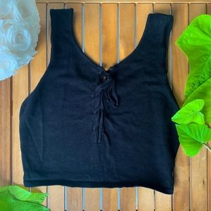 NWOT Forever 21 Cropped Tank Top
